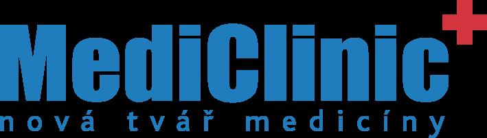 MediClinic logotyp hlavni Pantone