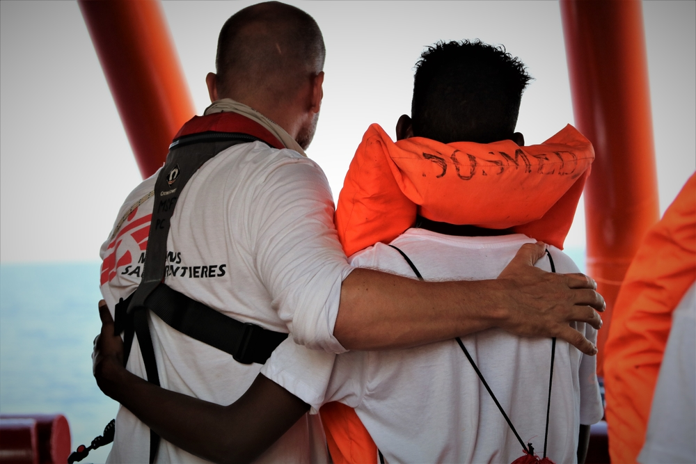 Ocean Viking: Transfer Rescued People for Disembarkation in Malt