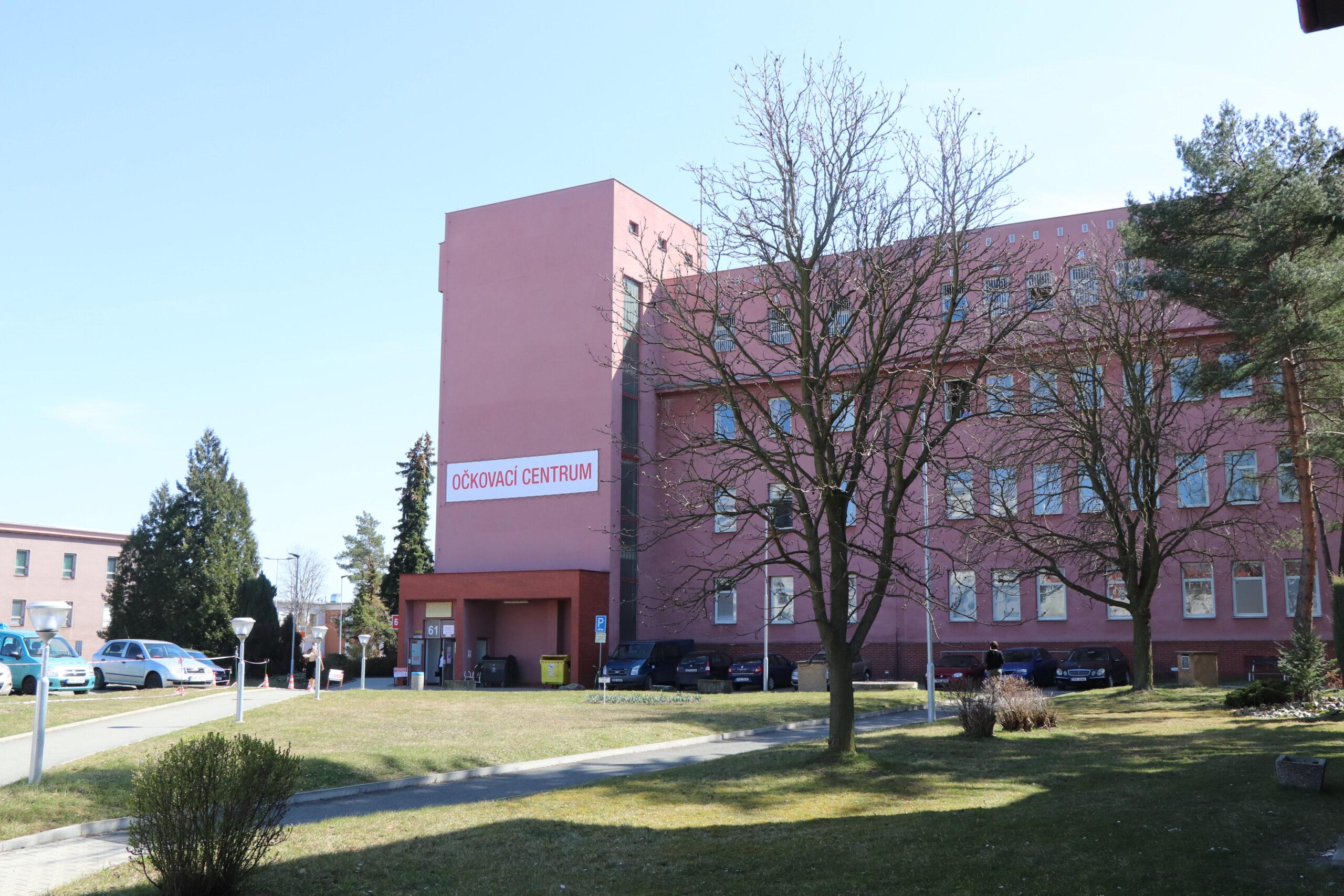 Očkovací centrum FN Plzeň