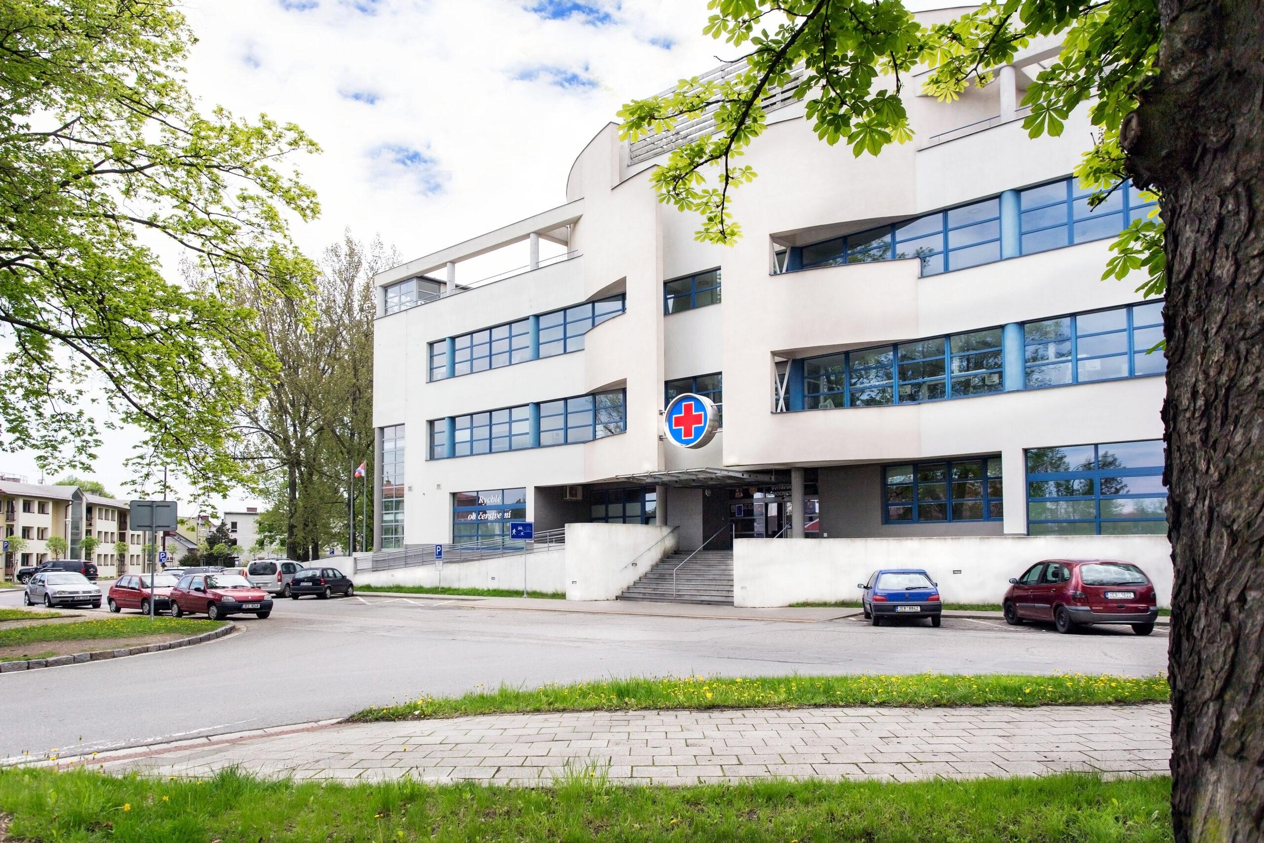Svitavská nemocnice_hlavní budova