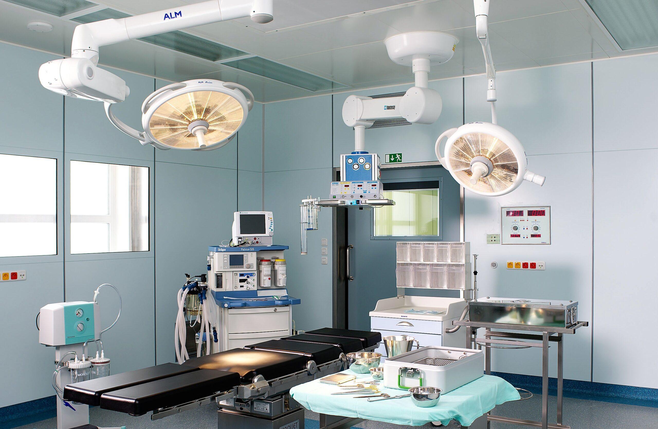 centrální operační sály